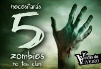 Beiras de Viveiro organiza unha xincana zombie o 5 de febreiro na praia de Covas. A asociación repartirá 1.200 euros en premios.